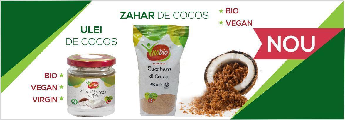 Zahar si ulei de cocos bio