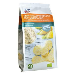 Minirondele bio din porumb cu quinoa 100g (fara gluten, fara drojdie)