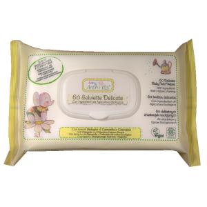 Servetele umede pentru bebelusi Baby Anthyllis - 60buc