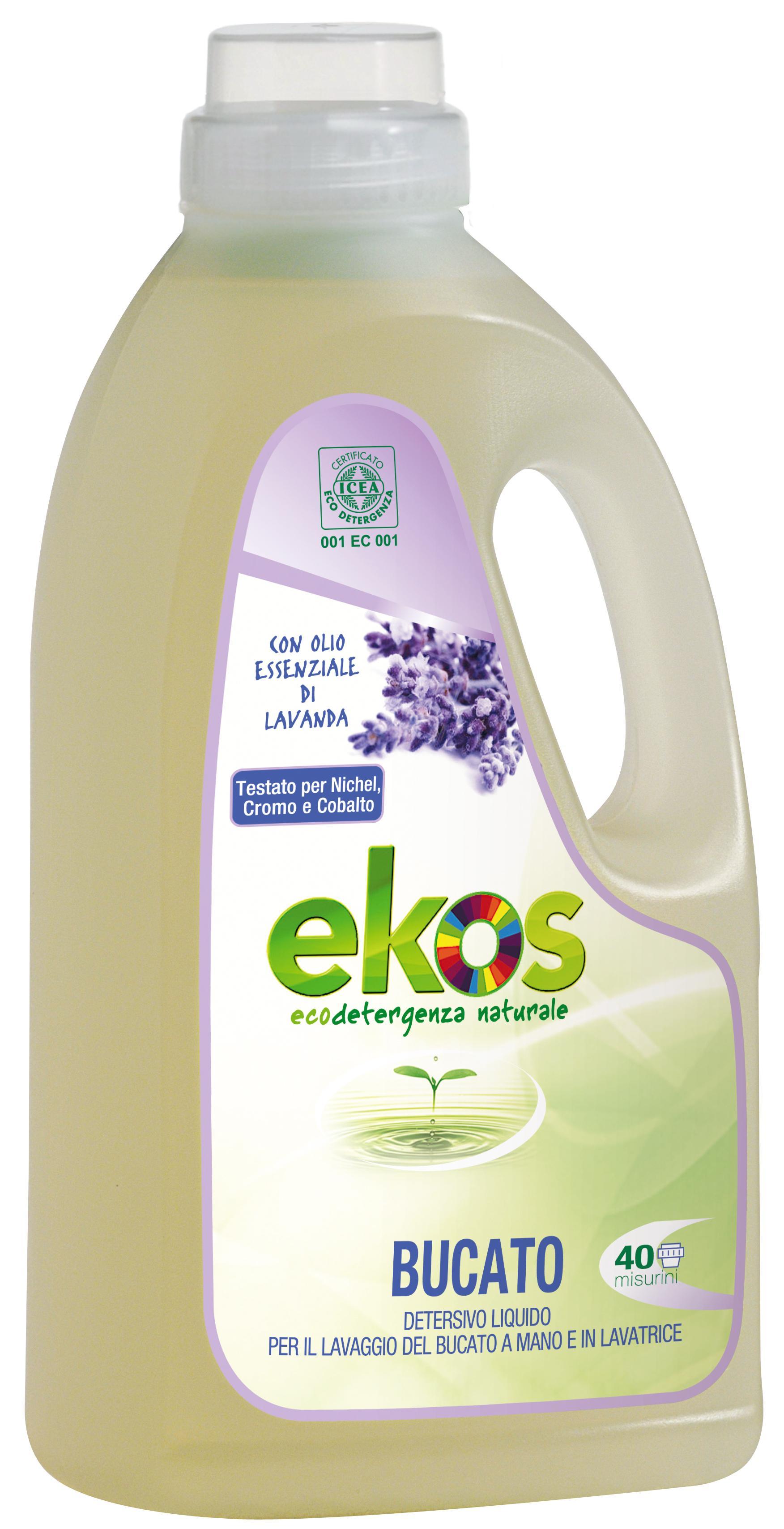 Detergent lichid ECO pentru rufe Ekos 2000ml