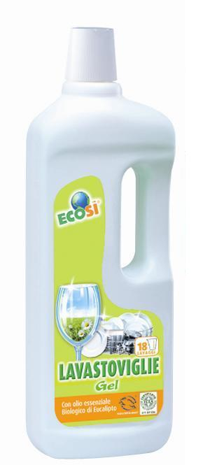 Detergent solutie ECO BIO pentru masina de spalat vase Ecosi 750 ml