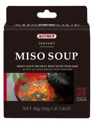 Supa instant miso cu alge 40g (4plicuri)