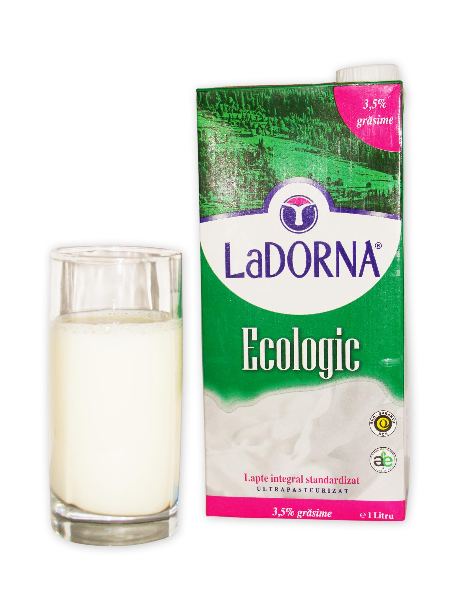 Lapte bio LaDorna 3,5%