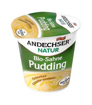 Pudding bio de vanilie