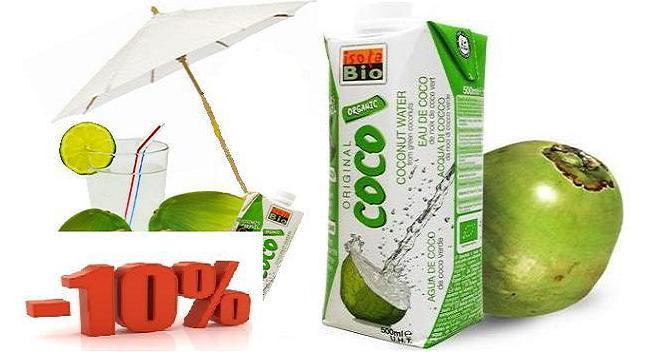 APA DE COCOS BIO cu 10% reducere