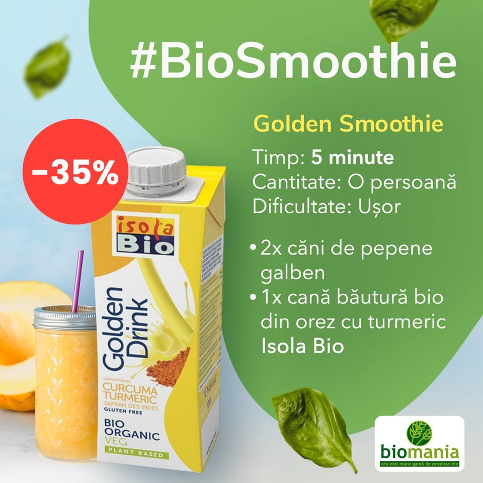 Golden Bio Smoothie