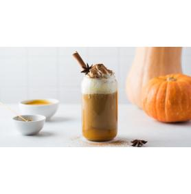 Lapte cu dovleac picant (Pumpkin Spice Latte) vegan