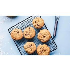Retete cu lapte vegetal bio din cereale - Cookies cu fulgi bio de ovaz