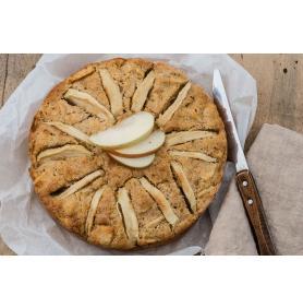 Prajitura de mere cu Mix integral bio pentru prăjituri si biscuiti 380g bioSUN