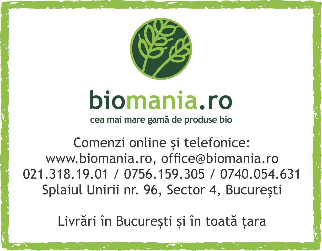 Site nou, biomania.ro