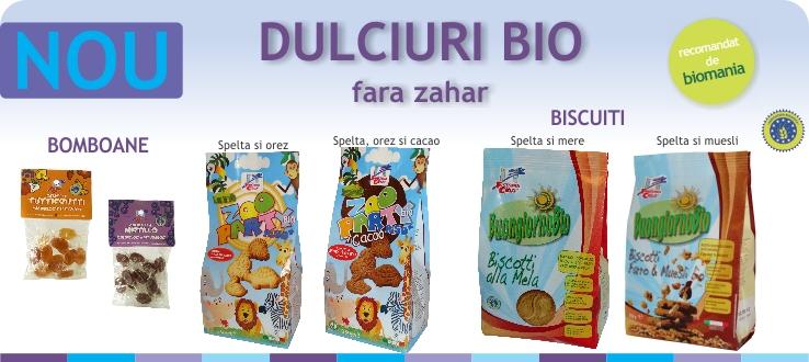 Dulciuri bio
