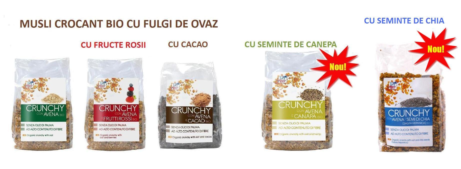 Cereale bio mic-dejun