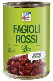 Fasole rosie bio