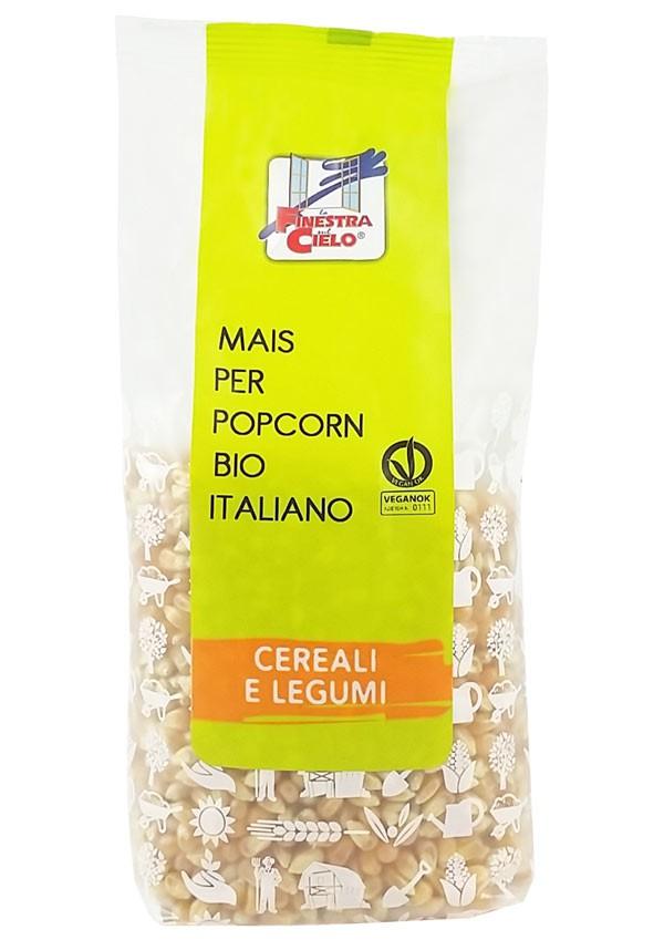 Porumb bio pentru floricele (popcorn) 500g
