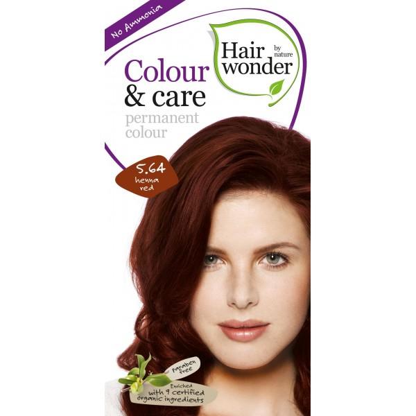 Vopsea permanenta fara amoniac Colour & Care – 5.64 Henna Red, 100 ml