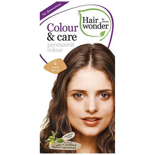 Vopsea permanenta fara amoniac Colour & Care – 6 Dark Blond, 100 ml