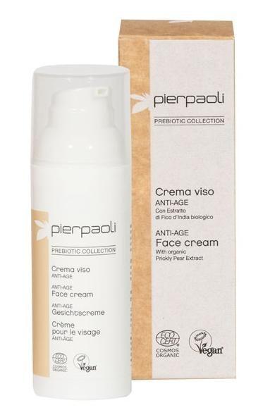 Crema de fata anti-age Cosmos Organic cu extract din fruct de cactus Pierpaoli Prebiotic 50 ml