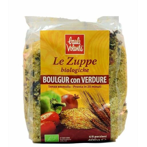 Boulgur bio cu legume, Baule Volante 400g