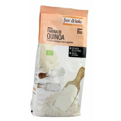 Faina de Quinoa bio, fara gluten, Fior di Loto 375g