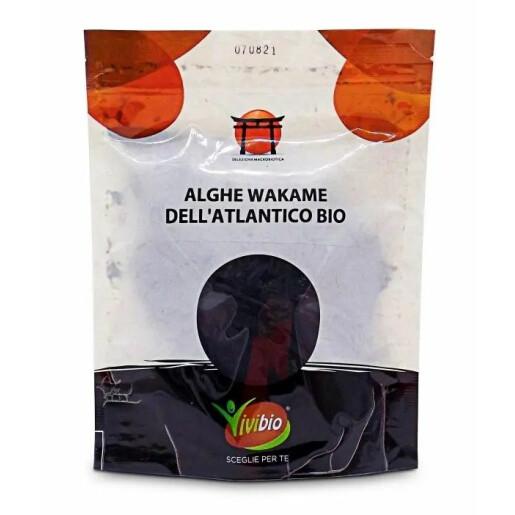 Alge Wakame bio din Atlantic Vivibio 30g