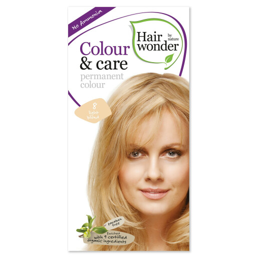 Vopsea permanenta fara amoniac Colour & Care - 8 Light Blond