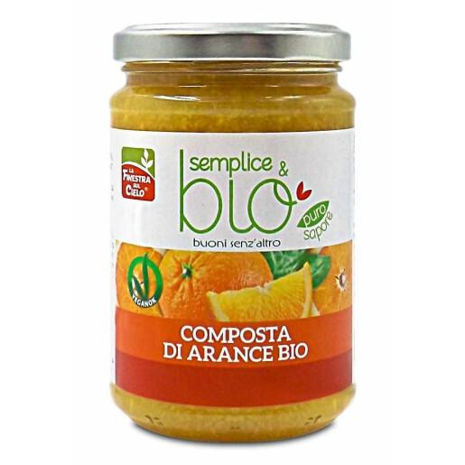 Gem bio de portocale 320g (produs vegan)