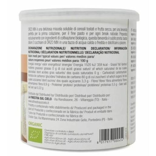Amestec instant bio din cereale 125g