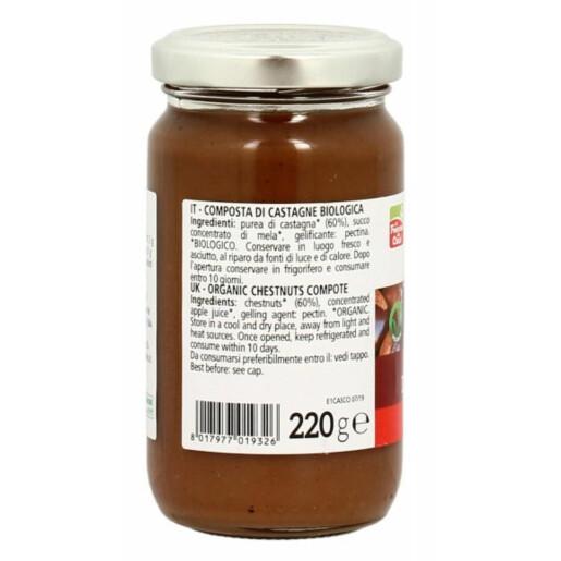 Gem bio de castane (indulcit cu suc de struguri), La Finestra Sul Cielo 220g