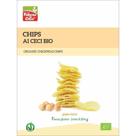 Chips bio cu naut (fara gluten, vegan) 75g