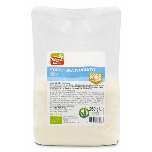 Nuca de cocos bio fulgi (rasa) 250g (produs vegan)