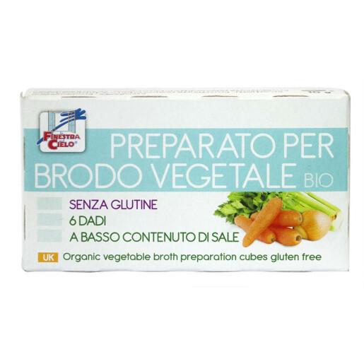 Cuburi vegetale bio pentru supa (continut scazut de sare, fara gluten) 60g