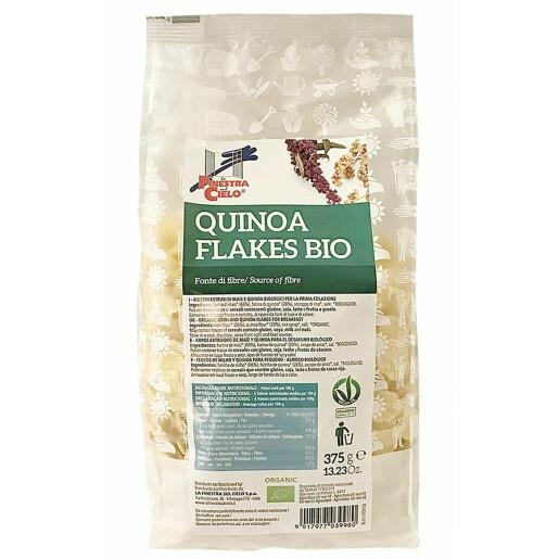 Fulgi bio cu quinoa 375g (produs vegan)