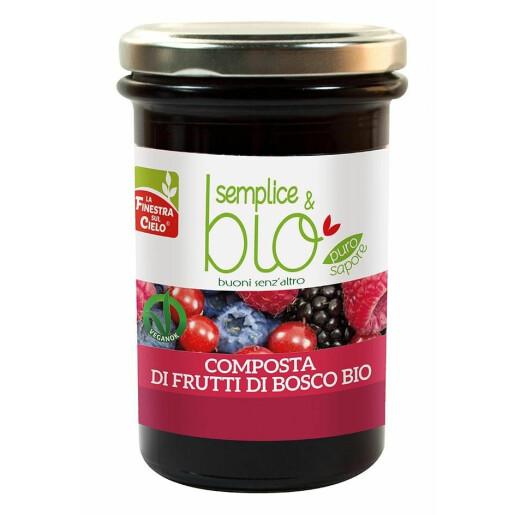 Gem bio fructe de padure 320g (produs vegan)
