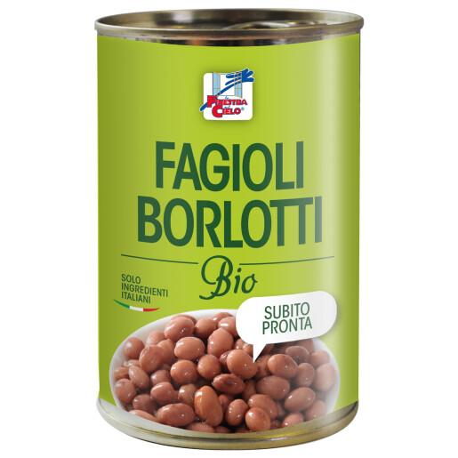 Fasole Borlotti bio 400g