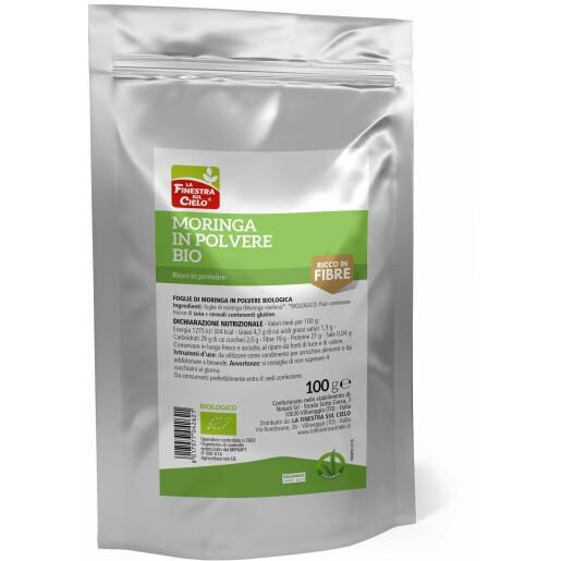 Moringa Pudra bio (vegan) 100g