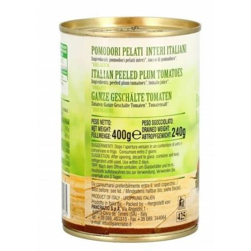 Rosii decojite bio, Biofoods 400g
