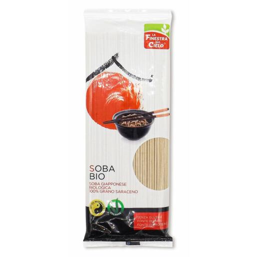 Paste bio Noodles Soba din hrisca, fara gluten, La Finestra Sul Cielo 200g