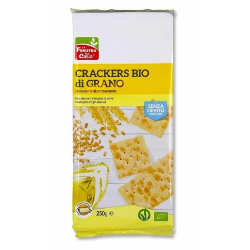 Crackers bio din grau (fara drojdie)