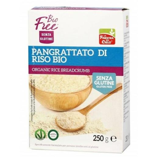 Pesmet bio din orez, fara gluten, vegan, La Finestra Sul Cielo 250g