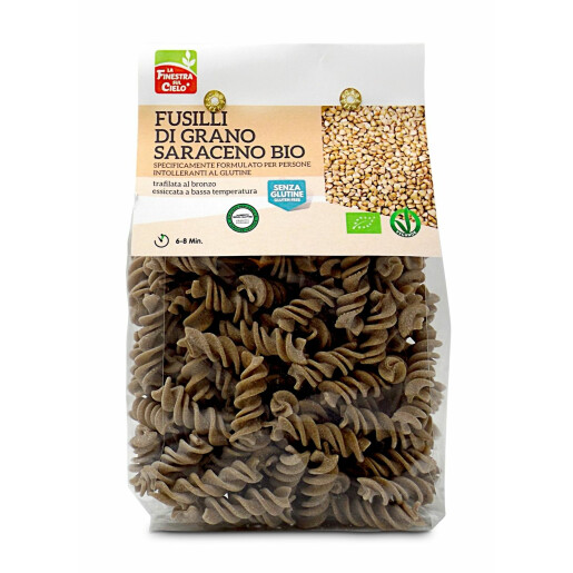 Paste Fusilli bio din hrisca 250g (fara gluten)