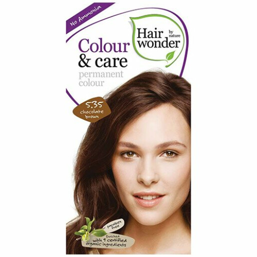 Vopsea permanenta fara amoniac Colour & Care - 5.35 Chocolate Brown
