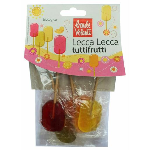 Acadele bio cu fructe Lollypops, Fior di Loto 62.5g