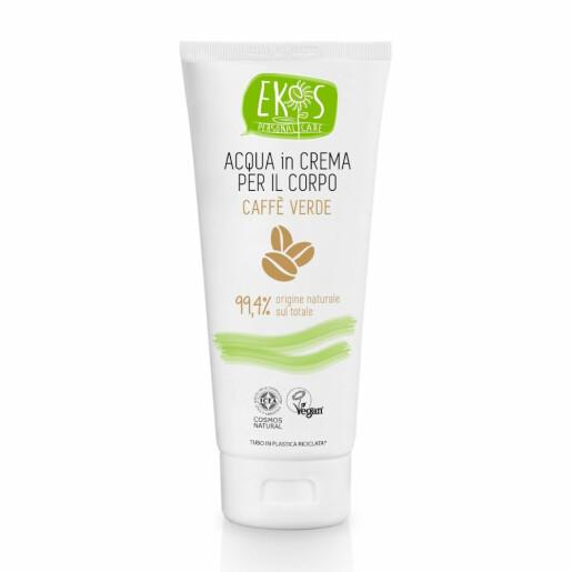 Crema fluida de corp cu Cafea Verde, Pierpaoli Ekos 200ml