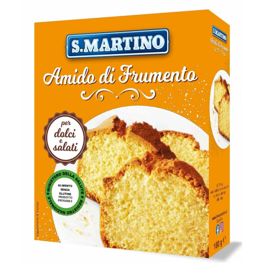 Amidon de grau, fara gluten, S.Martino 180g