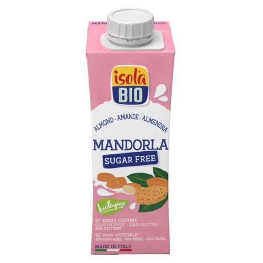 Băutura Bio de migdale, To Go, Isola Bio, fara gluten, fara zahar 250ml