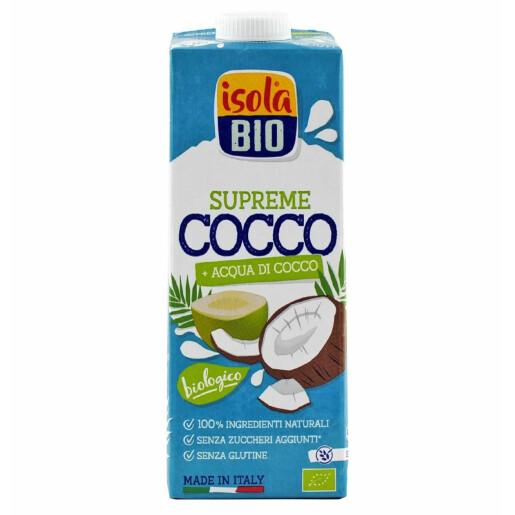 Bautura bio din nuca de cocos Supreme Isola Bio 1L (fara gluten)