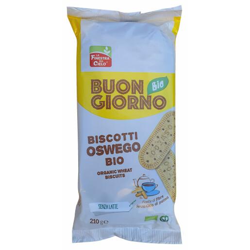 Biscuiti BuongiornoBio Oswego, vegan, La Finestra Sul Cielo 210g