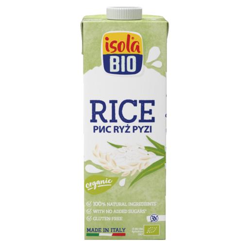 Bautura bio din orez Premium Isola Bio 1L (fara gluten, fara lactoza)