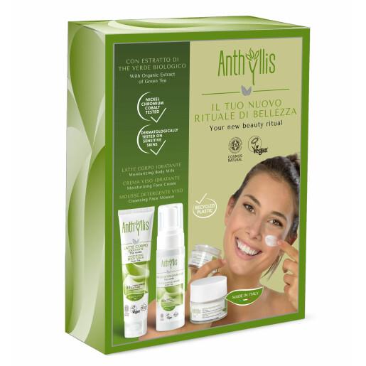 Set ingrijire Anthyllis, Ritualul tau de frumusete cu ceai verde, vegan, Cosmos Natural