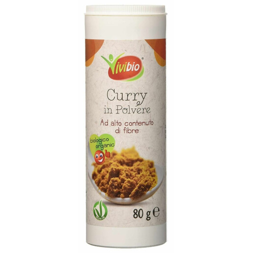 Curry bio (vegan) 80g Vivibio